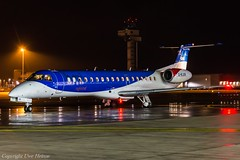 bmi Regional G-RJXR HAJ at Night (U. Heinze) Tags: aircraft airlines airways flugzeug planespotting plane haj hannoverlangenhagenairporthaj eddv nikon night