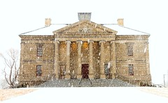 Colonial Building (Karen_Chappell) Tags: weather snow snowy snowing building architecture winter white cold february stjohns downtown city urban historic newfoundland nfld canada atlanticcanada avalonpeninsula eastcoast