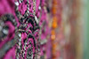 14/365 (Mellow Mandy) Tags: sequins beads fabric colorful mixedmedia bokeh blur dof 365project project365