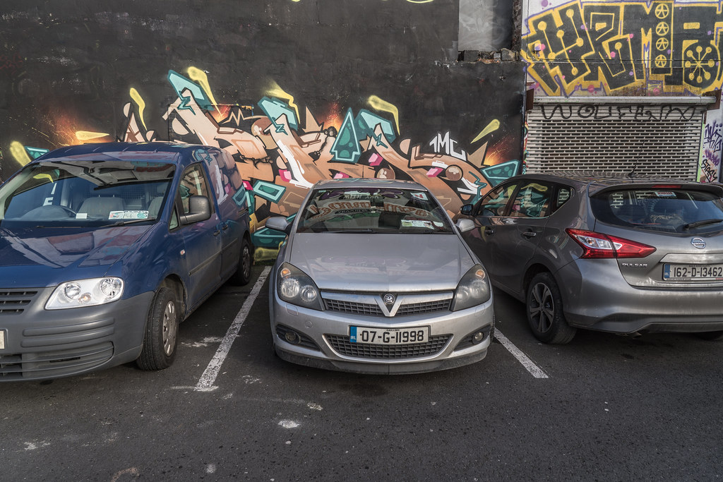 STREET ART AT THE TIVOLI CAR PARK IN DUBLIN [LAST CHANCE BEFORE THE SITE IS REDEVELOPED]-135612