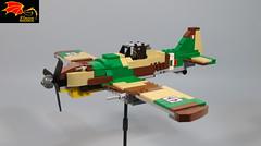 Fiat G.55 Centaur (Eínon) Tags: lego fiat g55 fighter interceptor warthunder war thunder world two italy italian air force