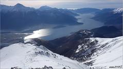 Lake (mame1964) Tags: valtellina lago como sorico gera lario corvegia sasso canale zocca scialpinismo neve alpe gigiai