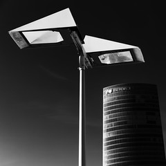 Competing (laga2001) Tags: competition monochrome size competitive architecture foreground blackandwhite bnw bw black white contrast composition abstract tall building modern square canon