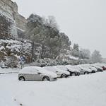Rue Soubeyranne et Fort Vauban sous la neige thumbnail