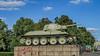 Russian T-34 tank, Soviet War Memorial on Strasse des 17 Juni, Tiergarten in Berlin Germany (Peter Beljaards) Tags: t34tank tiergarten berlin memorial germany russian warmemorial soviet ww2