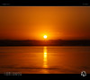 Golden Eye (tomraven) Tags: sunset sun globe golden eye i tomraven aravenimage beach reflections gold sea ocean sky mist q12018 fujifilm xs1 waves surf