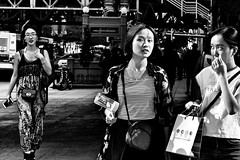 State Street - Chicago (draketoulouse) Tags: chicago loop state street streetphotography people blackandwhite monochrome city urban women