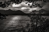 Catbells silhouette….. (AJFpicturestore) Tags: hmm monochromemonday friarscrag catbells keswick derwentwater cumbria thelakedistrict alanfoster