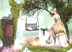 LuceMia - Swank Event (MISS V♛ ITALY 2015 ♛ 4th runner up MVW 2015) Tags: swankevent irrisistible sl new garden decore fashion creations mesh hud colors models event lucemia
