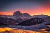 Sunset (Nedko Nedkov) Tags: italy odle sassolungo dolomites seceda winter landscape sunset snow