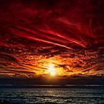 Cloudy Sunset at Playa Inglés thumbnail