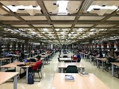 student library (UnprobableView) Tags: manuelmiragodinho unprobableview perspective universidadedebrasília brasília biblioteca library students unb bce bibliotecacentraldaunb