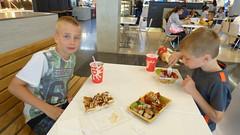 At the mall (Sandy Austin) Tags: panasoniclumixdmcfz70 sandyaustin westauckland auckland northisland newzealand mall foodhall
