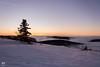 Couché de soleil et mer de nuages (Vosges, France) (AT Photographie) Tags: couché soleil sunlight sun sunset neige snow arbre tree montagne mountains vosges nature sauvage mer nuages nuageux nikon labresse landscape
