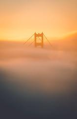 Golden Cloud Waves (Todd Danger Farr) Tags: goldengate goldengatebridge fog clouds longexposure explore sony a7rii sanfrancisco architecture bridge sunrise sunlight