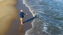 Fishing at Ocean City (SchuminWeb) Tags: schuminweb ben schumin web october 2017 ocean city maryland md oceancity worcester county eastern shore beach beaches resort town atlantic atlanticocean coastal easternshore sand sands sandy oceancityfishingpier fish piers fishing pier wave waves man men fisherman beard beards shorts sunglasses fly