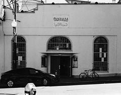 Sutter Street, San Francisco (Postcards from San Francisco) Tags: m6 50mmelmarm berggerpancro400 ber49 sanfrancisco film analog