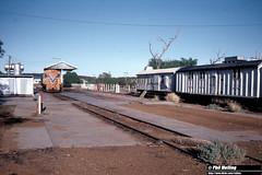 3741 Mullewa Loco 4 June 1983 (RailWA) Tags: mullewa railwa philmelling westrail