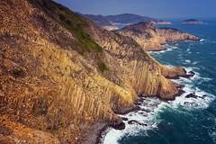 萬柱海岸 (samuel.w photography) Tags: hongkong landscape seascape hexagonalrockcolumns geopark