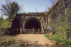 Brinnington Tunnel CLC Apr 1992 (Mr Bushy) Tags: manchester stockport brinnington bredbury northwestengland 1992 clc cheshire lines commitee cheshirelinescommittee england brinningtontunnel cheadlenorthtunnel goytvalley