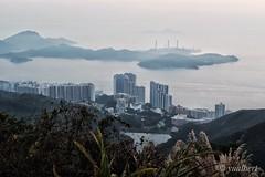 An Overlook To The Pokfulam, Hong Kong (yualbert) Tags: fuji fujifilm x100 100f photography snapshot candid hongkong city sea landscape water mountain building