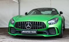 Green menace (Jez B) Tags: goodwoodfestival speed 2017 17 hill climb race racing competition motor car auto sport motorsport historic classic super supercar mercedes benz amg