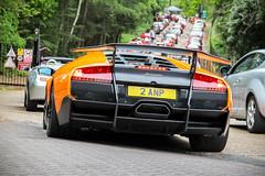 2009 Lamborghini Murciélago LP670-4 SV. (dementedb43) Tags: 2009 lamborghini murciélago lp6704 sv superveloce super veloce v12 italian italia italy spercar london brooklands museum 2017
