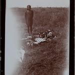 Man and a carcass. thumbnail