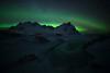 Green eye (Alfredo.Ruiz) Tags: canon eos6d samyang 14mm stockness vestrahorn islandia iceland aurora boreal