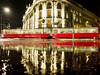 Twins (CoolMcFlash) Tags: night tram tramway vienna reflection rain city building drive exposure fujifilm x30 street asphalt puddle water reflektion nacht strasenbahn wien spiegelung pfütze regen stadt gebäude fahren strase wasser fotografie photography