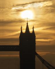 Tower Strikes 12 (JH Images.co.uk) Tags: hdr dri sun towerbridge bridge clouds architecture sunrise alondon