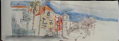 Rue Jeanne d'Arc, Lorient  23.02.18 (BessonKrok) Tags: dessins