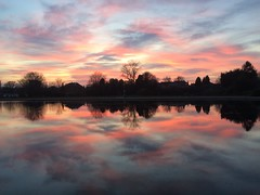 Barshaw Park sunset & 3/4 (markshephard800) Tags: trees paisley scotland renfrewshire barshaw lac pond colourful colorful colors colours couleurs