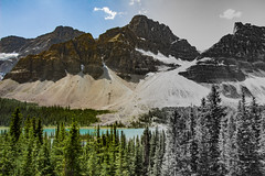 Disappearing colors in the Canadian Rockies (Yuliksroas) Tags: canada 150 national park rockies rocky mountains lake forest parks alberta black white