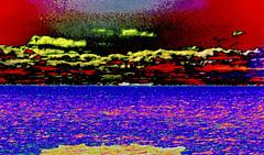 Lake Freighter north bound Gary to Buffalo (wildrosetn39) Tags: abstract water sky ship chromatic netart ii awardtree