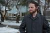 A Rare Snowy Day 5 (Justin Kimes) Tags: self portrait snow shreveport beards hair