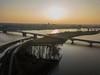 Nijmegen (Peet de Rouw) Tags: nijmegen river waal gelderland netherlands rivier flood hoogwater drone djimavicproplatinum waalbrug