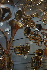 Part of the musical instrument collection (koukat) Tags: horniman museum gardens arts crafts new butterfly house