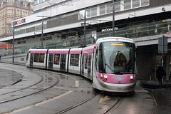 Midland Metro 30, Grand Central 20/01/18 (TC60054) Tags: national express west midlands midland metro tram tramway light rail railway lrv caf urbos 3