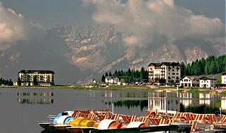 Dolomiti - Lago di Misurina (Belluno) - 1998