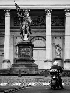 Biking the city