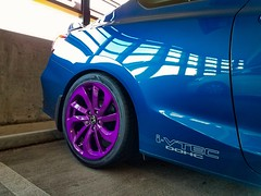Purple rdx wheels (zrksi) Tags: rdx wheels rims civic si blue car purple acura 2015 2016 2017 2018 coupe with
