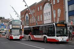 Bus Eireann 'MC304' & 'VWD67' (Longreach - Jonathan McDonnell) Tags: dsc0149 buseireann buseireanncork cork volvo volvob5tl wrightbusgemini mercedesbenz mercedescitaro mc304 vwd67 172c4393 161c3075
