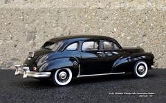 1949 Checker Deluxe 4dr Limousine Sedan (JCarnutz) Tags: 143scale diecast brooklin whitemetal 1949 checker deluxe