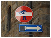 Don't Leave Me This Way! (The Stig 2009) Tags: nikon florence firenze tuscany italy road street signs altered doctored fun candid thestig2009 thestig stig 2009 2018 tony o tonyo