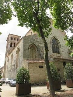 Église Saint-Barthélémy from Place Lafayette, Cahors, France