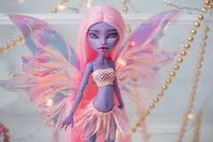 Spring Fairy (OOAK Monster High doll) (U N N I E D O L L S) Tags: janeboolittle ooakdoll ooakfairy fairydoll fairywings powderpuff unniedolls ooakjaneboolittle janeboolittlerepaint monsterhighrepaint monsterhighcustom swap dollswap artistswap