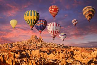 Göreme-Uçhisar Balon Turu