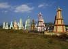 Monk tombs (danbaldini1) Tags: cemetery tombs graves vietnam buddhist