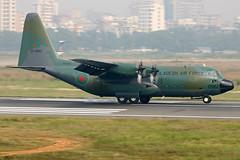S3-AGC Bangladesh-Air Force Lockheed C-130B. (Samee55) Tags: bangladesh dhaka dac vghs planespotting avgeek vdfp17 vday c130 air force baf transportaircraft militaryaircraft